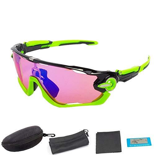 FidgetGear polarisierte Sonnenbrille für Sportfahrrad und Outdoor-Angeln, F02