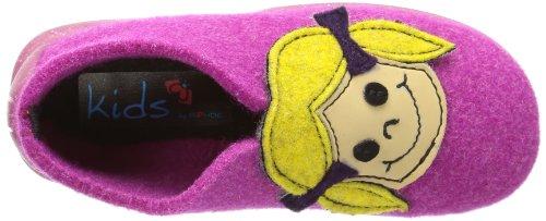 Rohde Tubbie, Hi-Top Slippers mixte enfant Rose - Pink (pink 46)