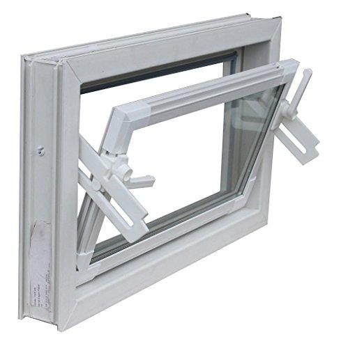 fenster 80x60 Kellerfenster weiss 80 x 60 cm Einfachglas