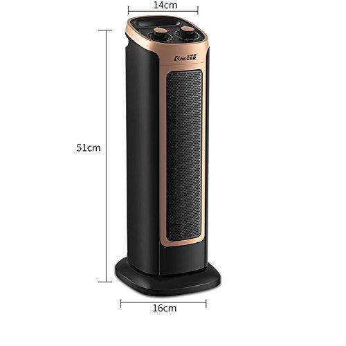 Xiao Heizung - Heizung Haushalt Badezimmer Heizung Büro Heizung energiesparende Gasheizung 2000 Watt (größe 51 cm X 16 cm X 14 cm) Raumheizkörper (Color : B)