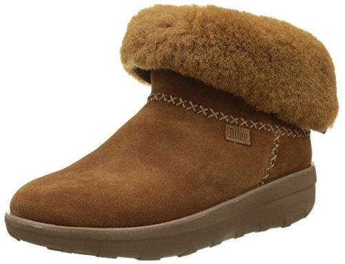 FitFlop Damen Mukluk Shorty 2 Boots Kurzschaft Stiefel, Braun (Chestnut), 37 EU (Damen Mukluk)