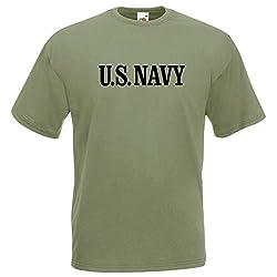 FOTL / B&C US Navy Seals Marines (Oliv) - T-Shirt, Gr. M