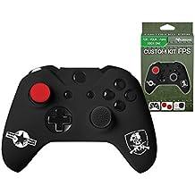 Subsonic - Kit de customisation pour manette Xbox One et Xbox One S - Housse en silicone pour manette Xbox One avec grips pour joysticks - CAMO / FPS