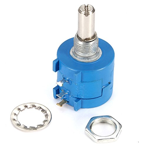 Bluelover 5Pcs 3590S-2-103L 10K Ohm Bourns Rotary Wirewound Präzision Potentiometer Pot 10 Turn