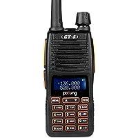 Pofung GT-5 Radio de dos vías , Doble Banda VHF / UHF 136-174 / 400-520MHz Transceptor (GT-5)