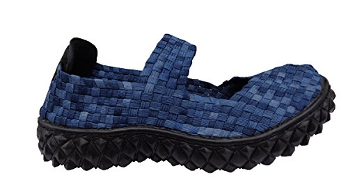 ROCK SPRING OVER - DONNA - SOTTOPIEDE IN MEMORY FOAM - NAVY WASHED 39
