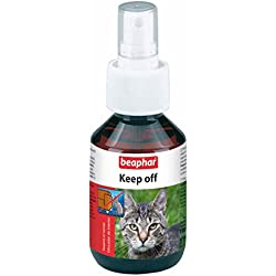 Beaphar BEA13666 Keep Off Spray Educador para Gatos - 100 ml