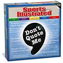 "Don't Quote Me"" Board Game - Sports Illustrated Edition"