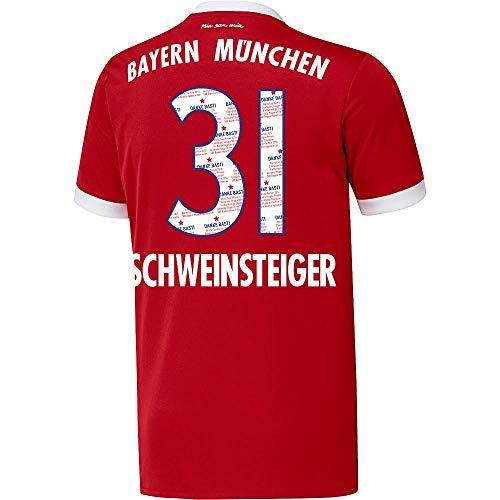 Bayern München Home Danke Bastian Schweinsteiger 31 Trikot 2017 2018 - XL