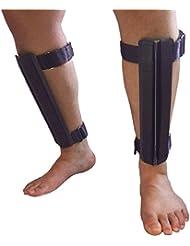 Active Protection Gear® Security Beinschützer massiv mit Harter Kante zur Selbstverteidigung