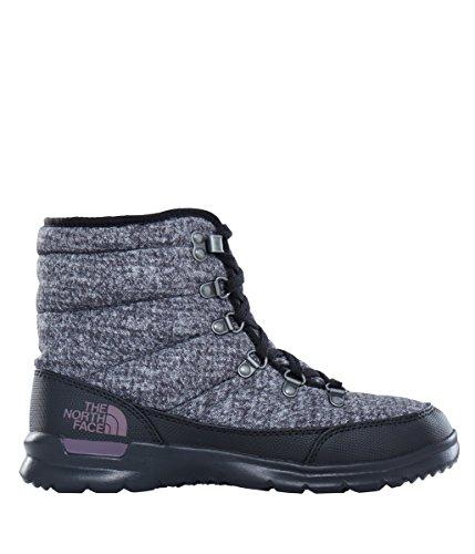 North Face W Thermoball Lace Ii, Zapatillas de Senderismo para Mujer, Gris (Burnshdhndstthprt/Blckplm), 36 EU