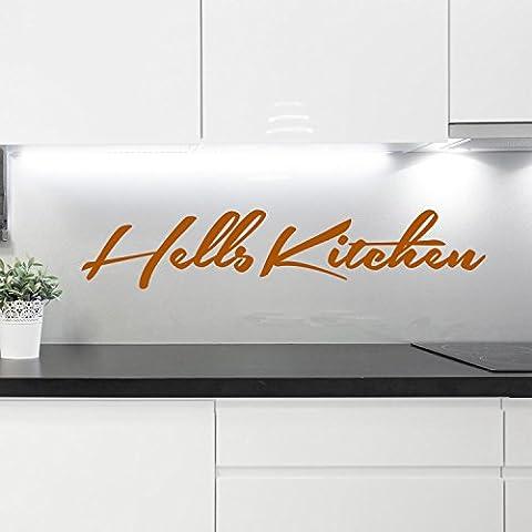 Sticker mural–Hells Kitchen, Terra Cotta, 120 x 24