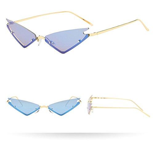 Makefortune Unisex Damen Und Herren Vintage Unregelmäßige Form Sonnenbrille Eyewear Retro Brille Vintage Sonnenbrille Mode Casual Sommer Brille