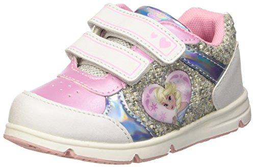 Walt Disney Sneaker, Scarpe da Neonato Bambina, Bianco, 28 EU