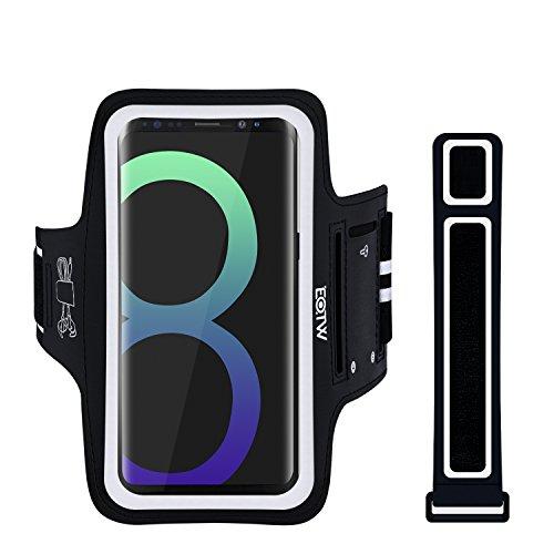 EOTW Fascia da Braccio Samsung Galaxy S8 Armband Porta Cellulare Custodia Sportiva per Grande Smartphone Samsung Huawei Moto da Corsa Maratona Palestra Running Jogging