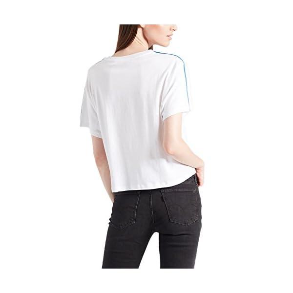 Camiseta Levis – Graphic J.V. Sporty Housemark Blanco/Azul Talla: XXS (XX-Small)