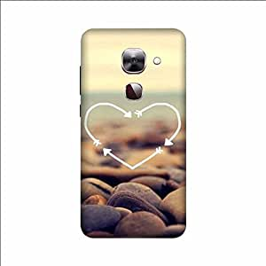 Yashas High Quality Designer Printed Case & Cover for Letv Max 2 (Heart)