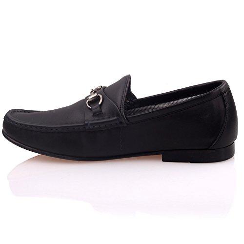 Männer Leder G00332 Formales Neirien Kleid Unze Schwarz Für Schuhe qaRHPx6