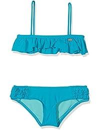 O 'Neill niña Morro Ruffle Bikini Bikinis, niña, Morro ruffle bikini, Capri Breeze, 4 años (104 cm)