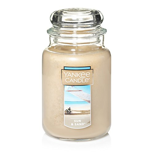 Yankee Candle Duftnote: Sonne und Sand, Sun and Sand, L Jar Candle -