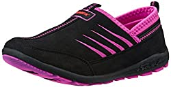 Sparx Womens Black and Pink Running Shoes - 4 UK/India (37 EU)(SX0082L)