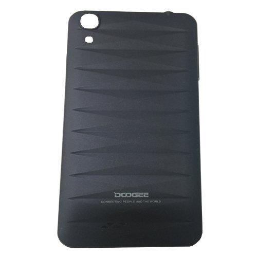Movilconsolas Carcasa Tapa bateria Negra Doogee Valencia DG800 Swap