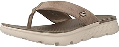 Sandalias y chanclas para mujer, color Hueso , marca SKECHERS, modelo Sandalias Y Chanclas Para Mujer SKECHERS ON THE GO 400 ESSENCE Hueso
