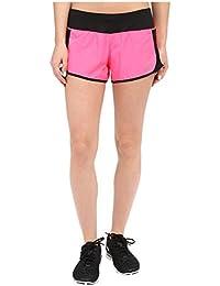 Las mujeres de Nike Crew seco corto de running