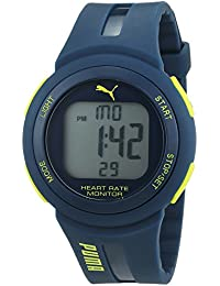 Puma Time Herren-Armbanduhr Pulse Plus Digital Quarz Kautschuk PU911101003