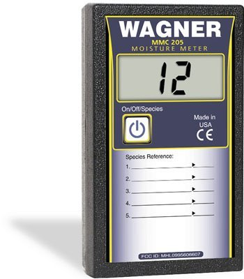Pinless Moisture Meter (Wagner Meters MMC205 Shopline 5% to 20% Pinless Digital Wood Moisture Meter by Wagner Meters)