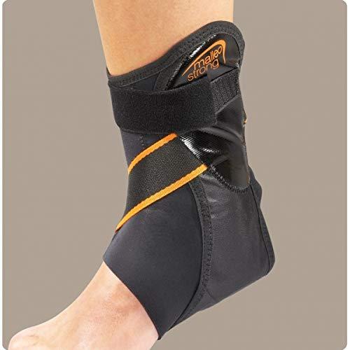 RO+TEN - Malleostrong tutore bivalva per caviglia con imbottitura in schiuma e tirante latero-mediale - M, Sinistra