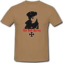 El Barón Rojo Caza Planeador 1Held Legende Autobús WK1Manfred von Richthofen–Camiseta # 1114