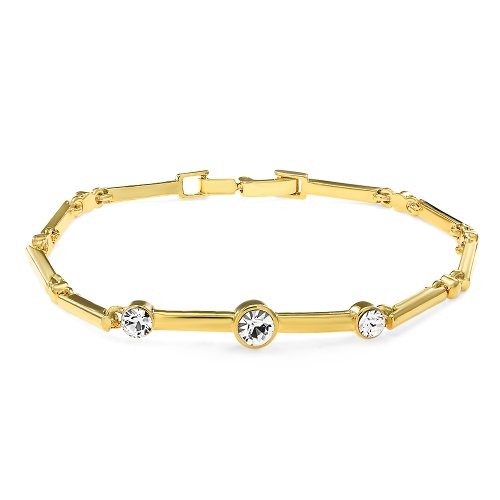 Mahi daily wear fashion Celestial Bracelet of brass alloy with crystal for Women BR1100225G  available at amazon for Rs.228