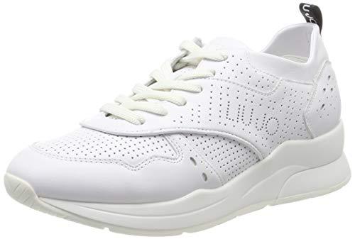 7ff4f48fc3 Liu Jo Shoes Karlie 14 - Sneaker Calf Leather White Scarpe da Ginnastica  Basse Donna,