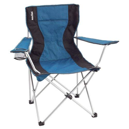 Brunner 0404049n sedia armchair classic, nero/blue c05, universale
