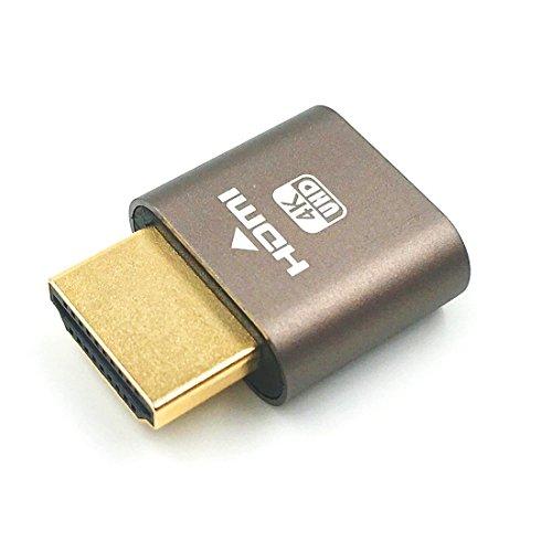 Digitalkey Dummy Plug HDMI 4 K Emulator Projektoren Remote Management PC. 4 K bis zu 3840 x 2160 @ 60 Hz. Windows TeamViewer oder andere (Management Windows Remote)