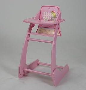 Knorr 67106 Futura Little Princess - Trona de Juguete, Color Rosa