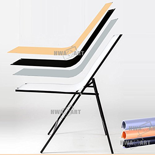 hwastudio® Easy Set Up Studio Shooting Tisch, immer noch leben Tisch Produkt 60x 100cm (60x 100cm) (Studio-beleuchtung Kontinuierliche)