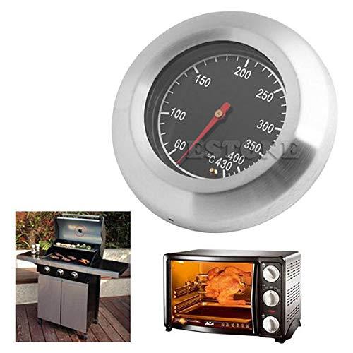 Yiwann - Termómetro de cocina para horno, barbacoa de 60 a 430 °C
