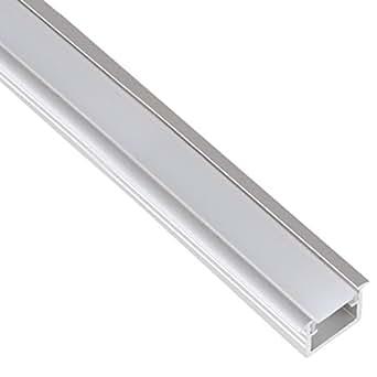 Bord Plat Led Avec Cache Encastrable En Aluminium Profil Bande De Lumi Re De Bande De Ruban 1 M