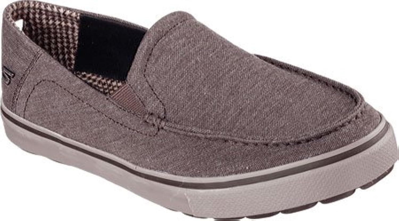 Skechers Schuhe 53748/BRN Herrenslipper Gr.44 5  Billig und erschwinglich Im Verkauf
