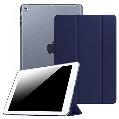 Fintie iPad mini Hülle - Ultradünne Superleicht Schutzhülle mit transparenter Rückseite Abdeckung Cover mit Auto Schlaf / Wach Funktion für Apple iPad Mini / iPad Mini 2 / iPad Mini 3, Marineblau