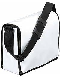 HALFAR - sac sacoche bandoulière porte documents 1802814 - blanc - mixte homme / femme