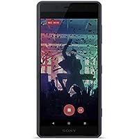 """Sony Xperia XZ2 Compact - Smartphone de 5"""" FHD HDR 18:9 (Snapdragon 845, Octa Core 2.8 GHz, 4 GB de RAM, memoria interna de 64 GB, cámara de 19 MP Motion Eye con grabación 4K HDR, Android O) color negro [Exclusivo Amazon]"""