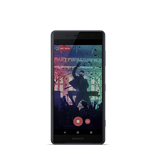 "Sony Xperia XZ2 Compact - Smartphone de 5"" (Octa-core de 2.8 GHz, RAM de 4 GB, memoria interna de 64 GB, cámara de 19 MP, Android) color negro [Exclusivo Amazon]"