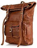 Rucksack Berliner Bags Leeds M aus Leder Kurierrucksack Tagesrucksack Trekkingrucksack Wasserdicht Damen Herren Klein