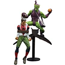 Diamond Select Toys Marvel Select: Classic Green Goblin vs. Spider Man Action Figure