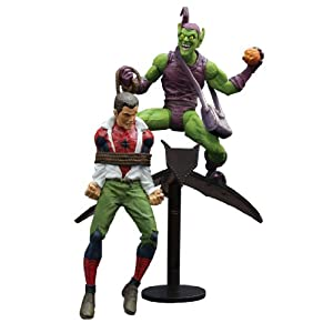 Diamond Select Toys Marvel Select: Classic Green Goblin vs. Spider Man Action Figure 4