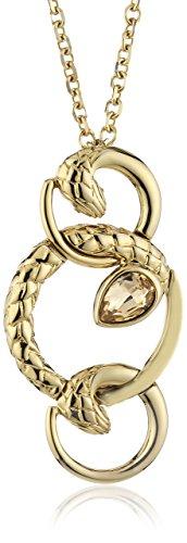 Just Cavalli SCAAC02 'Pendant in Acciaio Inox, Colore: Oro, Motivo: Passione