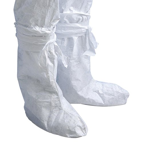 Price comparison product image POLIGARD disposable overboots - Bag of 20 pairs - White,  One size